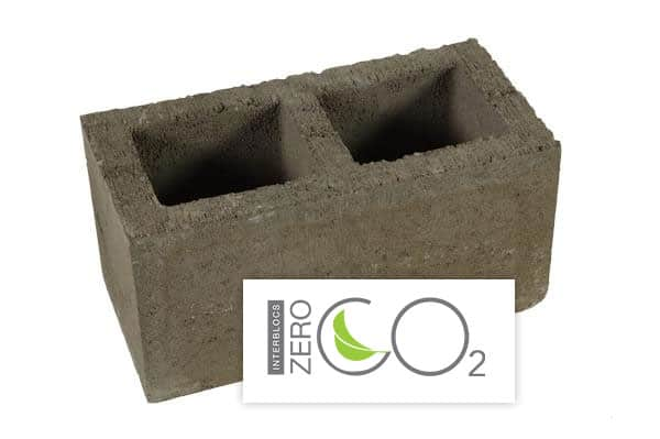 Blocs béton CO2 neutres